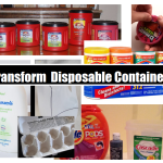 Transform Disposable Containers