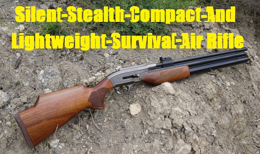 Silent Stealth Compact And Lightweight Survival Air Rifle