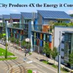 Solar City Produces 4X the Energy it Consumes