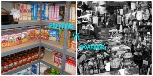 hoarders vs preppers