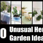 30 Unusual Herb Garden Ideas