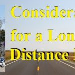 Considerations for a Long Distance Bug Out