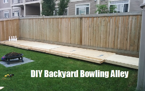 diy backyard bowling alley the prepared page