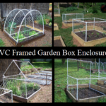PVC Framed Garden Box Enclosures