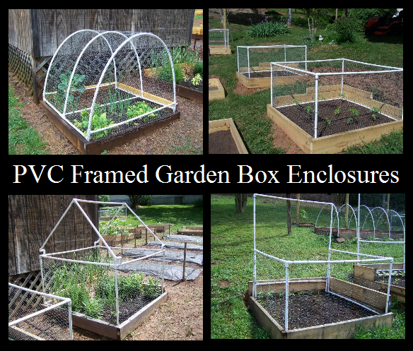 Pvc Framed Garden Box Enclosures The Prepared Page