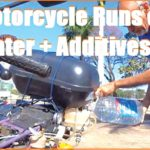 Motorcycle Runs on Water + Additives