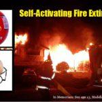 Self-Activating Fire Extinguisher