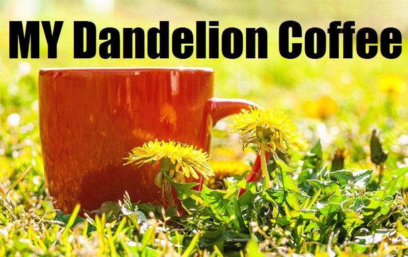 MIY Dandelion Coffee