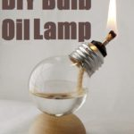 DIY Bulb Oil Lamp