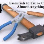 14 Essentials to Fix or Clean Almost Anything