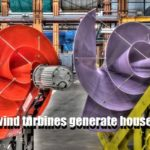 Silent rooftop wind turbines generate household energy