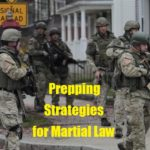 Prepping Strategies for Martial Law