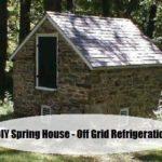 DIY Cold Spring House – Off Grid Refrigeration