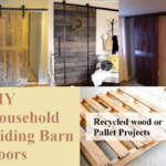 DIY Household Sliding Barn Doors