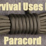 Survival Uses For Paracord