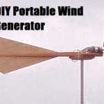 DIY Portable Wind Generator