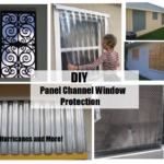 DIY Panel Channel Window Protection