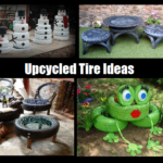 Upcycled Tire Ideas