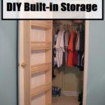 DIY Built-In Storage