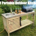 DIY  Portable Outdoor Kitchen