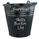Survival Skills Bucket List