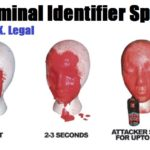 Spray Criminal Identifier – UK Legal