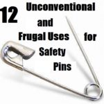 12 Unconventional & Frugal Uses for Safety Pins