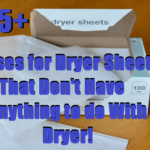15+ Uses for  Dryer Sheets That Don't Have Anything to do With a Dryer!