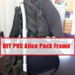 DIY PVC Alice Pack Frame