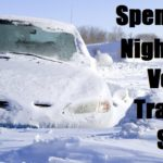 Spending the Night in your Vehicle Trapped by Snow