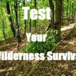 Test Your Wilderness Survival