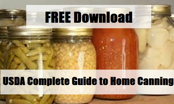 FREE Download USDA Complete Guide to Home Canning