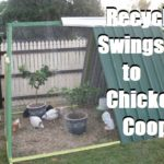 Recycle Swingset to Chicken Coop!