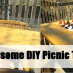 Awesome DIY Picnic Table