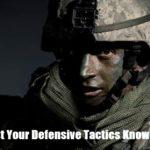 Test Your Defensive Tactics Knowledge