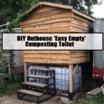 DIY Outhouse 'Easy Empty' Composting Toilet (Parts 1 & 2)