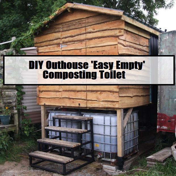 DIY Outhouse \'Easy Empty\' Composting Toilet (Parts 1 & 2) - The ...