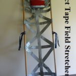Duct Tape Field Stretcher