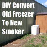 DIY Convert Old Freezer to New Smoker