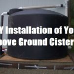 DIY Installation of Your Above Ground Cistern