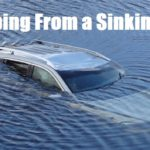 Escaping From a Sinking Car