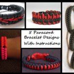 5 Paracord Bracelet Designs With Instructions