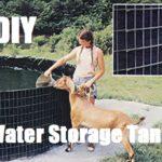 DIY Water Storage Tank