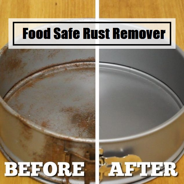 Food Safe Rust Remover