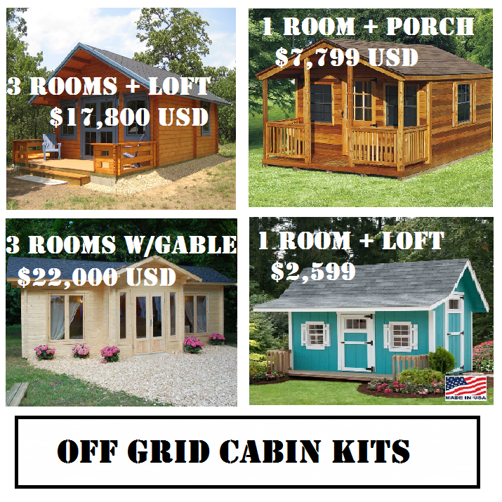 Off Grid Cabin Kits