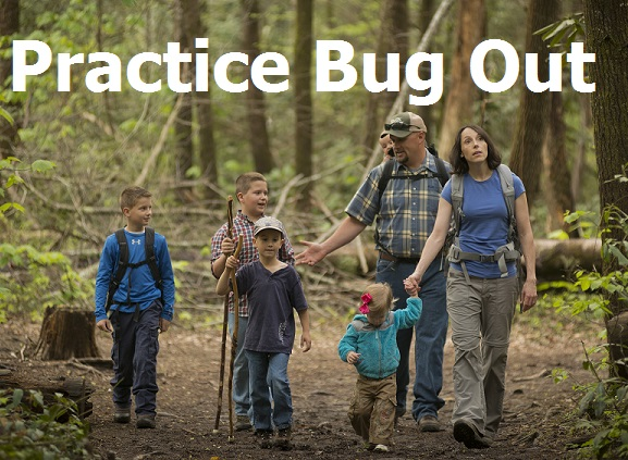 Practice Bug Out