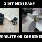 2 DIY Mini Fans – Separate or Combined