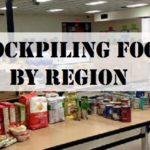 Stockpiling Foods by Region