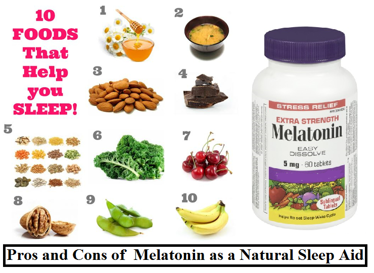 Natural Melatonin Foods