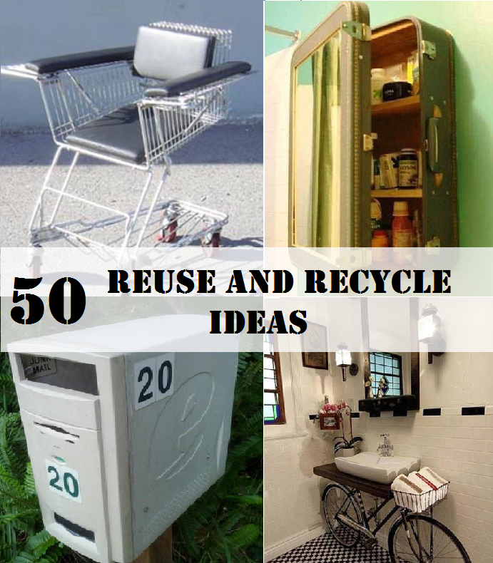 50 Reuse and Recycle Ideas